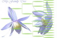 Blank Tree Diagram Template Awesome Family Tree Diagram Template these Free Children and Use