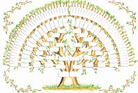 Blank Tree Diagram Template Awesome Inspirational Free Blank Family Tree Chart Culturatti