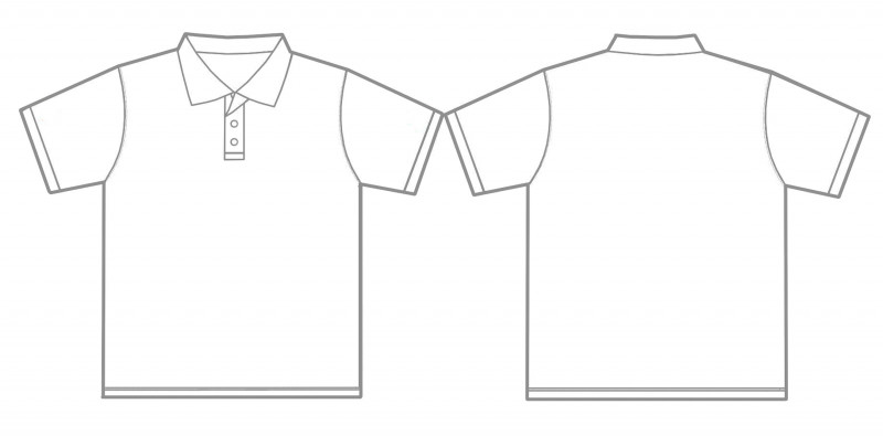 Blank Tshirt Template Pdf Unique Collar T Shirt Template Clipart Clipart Images Gallery For