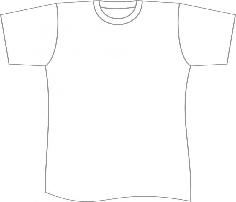 Blank Tshirt Template Printable New Free T Shirt Template Printable Download Free Clip Art
