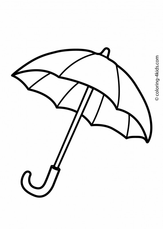 Blank Umbrella Template Awesome Pin By Susi Marsal On Otoa±o Umbrella Coloring Page