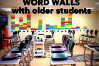 Blank Word Wall Template Free New How and why to Use Word Walls with Older Students Building