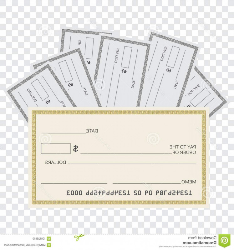 Editable Blank Check Template Awesome Blank Check Vector Cqrecords