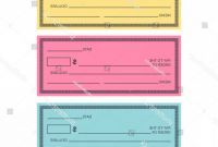 Editable Blank Check Template Unique Blank Check Template Vector Banking Cqrecords