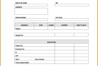 Editable Blank Check Template Unique New Payroll Template Free Konoplja Co