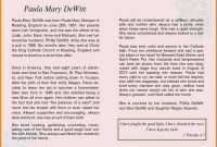 Fill In the Blank Obituary Template Unique 10 Newspaper Obituary Examples Proposal Sample