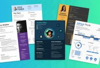 Free Bio Template Fill In Blank Unique Infographic Resume Template Venngage