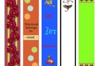 Free Blank Bookmark Templates to Print Awesome Bookmark Template to Print Activity Shelter