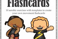 Free Printable Blank Flash Cards Template Unique Movement Flashcards