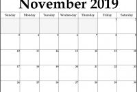 Full Page Blank Calendar Template New 021 November Calendar Sample Template Ideas Free Singular