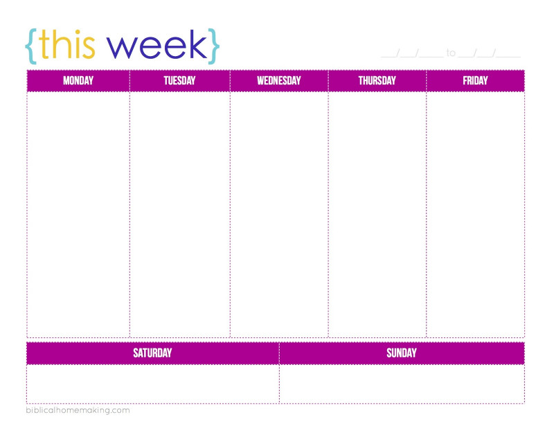 Printable Blank Daily Schedule Template New Free Printable Daily Calendar With Time Slots May 2019 Uk