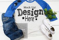 Printable Blank Tshirt Template Awesome Next Level 6051 Vintage Royal Heather White Raglan Mockup Baseball T Shirt Mock Up Shirt Flat Lay Baseball Tee Blank Download Template