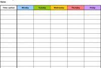 Printable Blank Tshirt Template New Online Weekly Calendar Bismi Margarethaydon Com