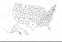 United States Map Template Blank Awesome Blank Similar Usa Map isolated On White Background United