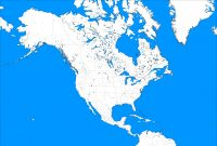 United States Map Template Blank Awesome Large Blank north America Template by Mdc01957 On Deviantart