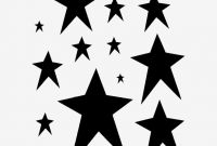 8 X 3 Label Template Awesome Primitive Star Stencil Many Stars Stencils Celestial Craft