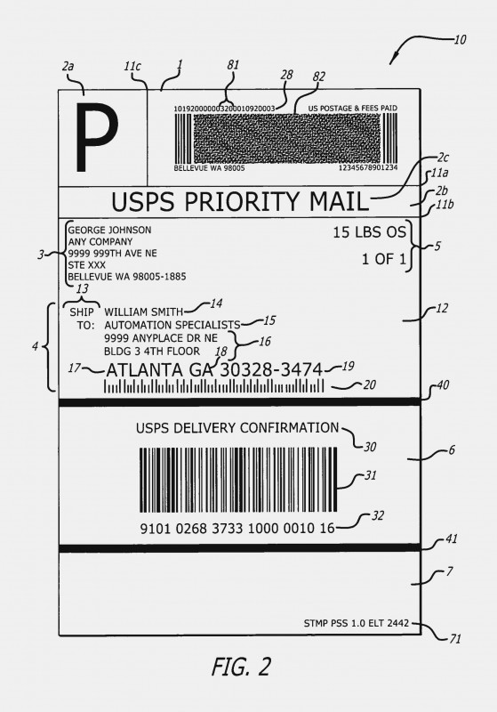 Address Label Template For Mac Awesome Printable Usps Shipping Label Template