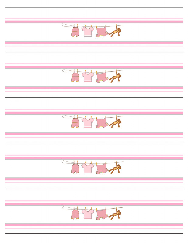 Baby Shower Bottle Labels Template Awesome Water Bottle Label Template Size