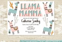 Baby Shower Bottle Labels Template New Llama Mamma Baby Shower Invitation Template Boy or Girl Llama Mamma Gender Neutral Llama Baby Shower Invite Llama Party Printed or Diy