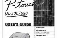 Brother Label Printer Templates Awesome Brother Ql 500 Users Manual Manualslib Makes It Easy To Find