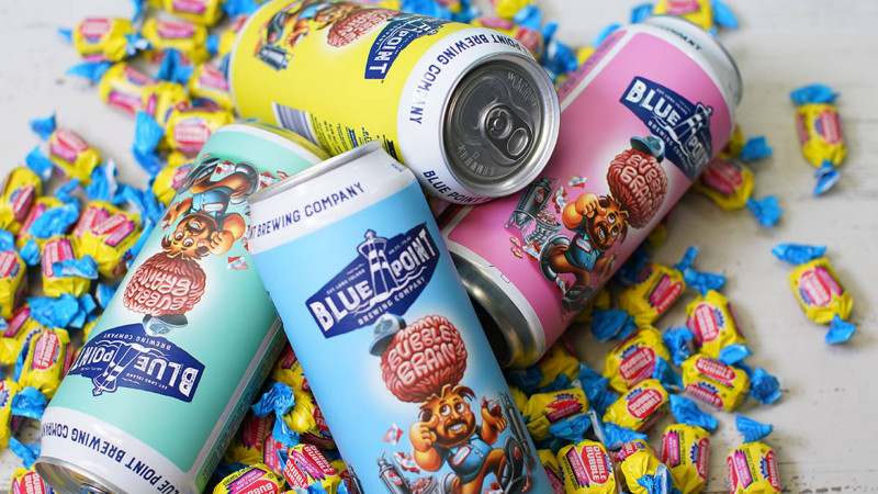 Bubble Bottle Label Template New Blue Point Brewing Releases Garbage Pail Kids Inspired Beer