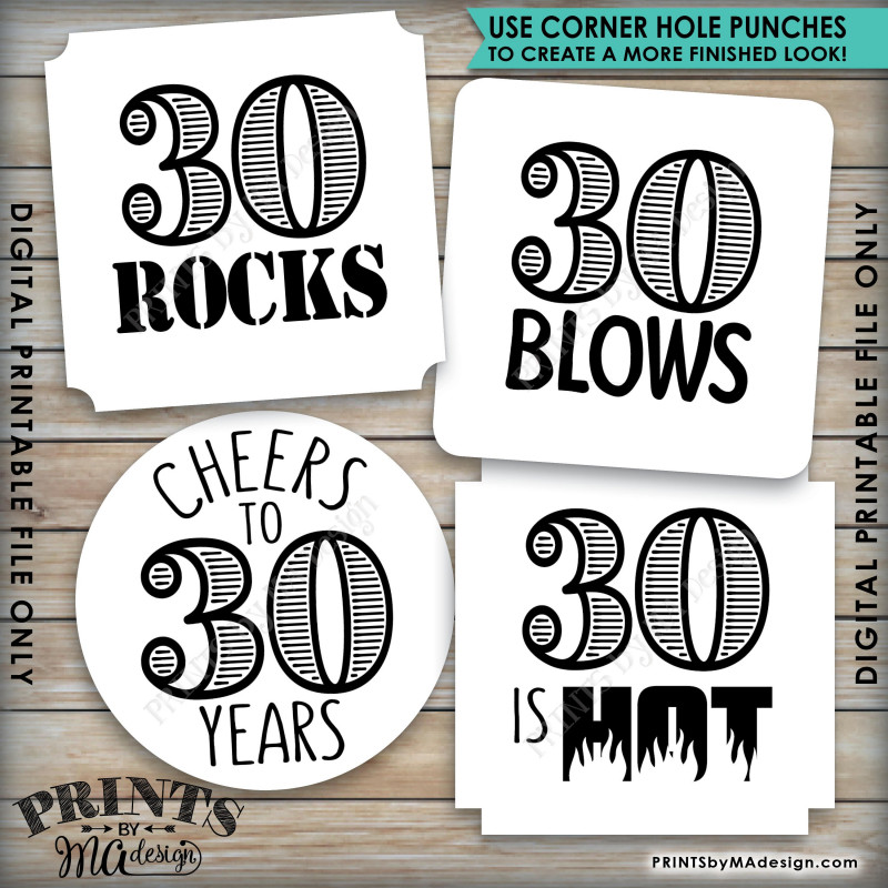Candy Bar Label Template New 30th Birthday Party Candy Signs Candy Bar 30 Sucks Blows