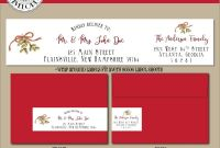 Christmas Address Labels Template Awesome 009 Christmas Return Address Labels Template Ideas Il
