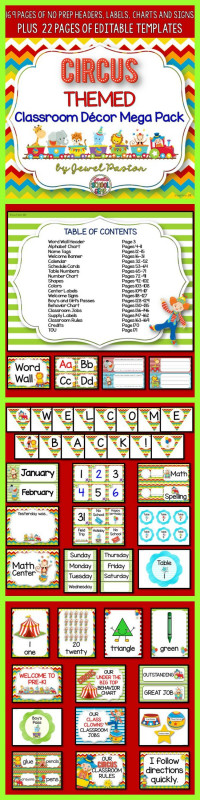 Crayon Labels Template Awesome List Of Pinterest Classroom Themes Circus Pictures