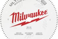 Decorative Label Templates Free New Milwaukee 12 In 100 Tooth Ultra Fine Finish Circular Saw