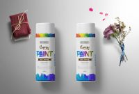 Desi Telephone Labels Template Unique Prime Spray Can Bottle Label Mockup by Arun Kumar On Dribbble