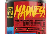 Dietary Supplement Label Template New Pvl Mutant Madness Pre Workout Booster 30 Port Training Fitness Sport Energy