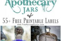 Diy Water Bottle Label Template Unique Halloween Apothecary Jars Free Printable Labels the