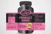 Drink Bottle Label Template Awesome Bottle Label Package Template Design Label Design Mock Up
