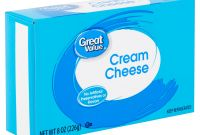 Egg Carton Labels Template Awesome Great Value Cream Cheese 8 Oz Walmart Com