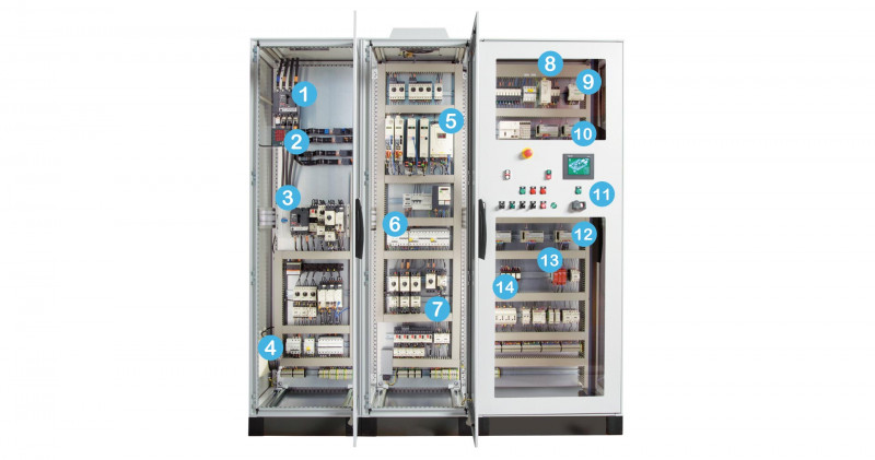 Electrical Panel Label Template Download Unique Panel Builders Control Panel Components Schneider Electric