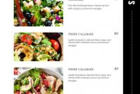 Food Label Template Word Awesome Restaurant Menu Id11