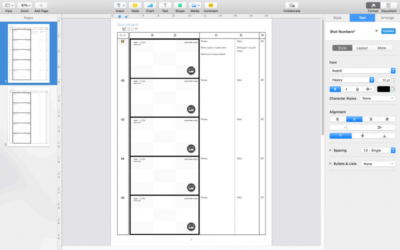 Free Labels Template 16 Per Sheet Unique Free Pdf Storyboard Template Advertising Storyboard