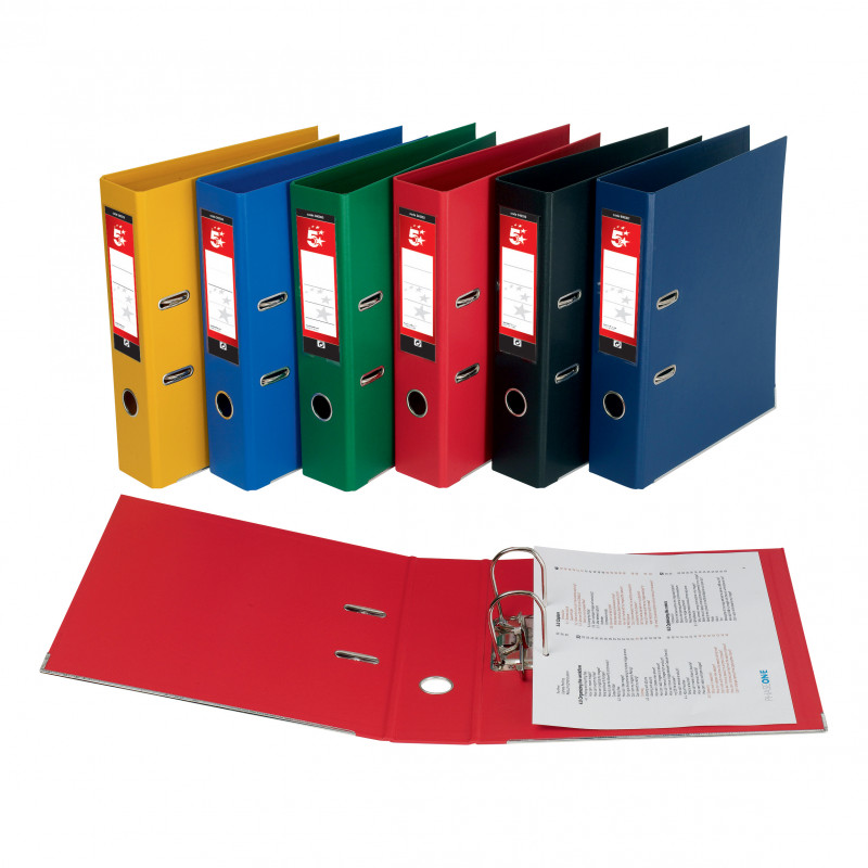 Free Lever Arch File Spine Label Template Unique 5 Star Office Lever Arch File Polypropylene Capacity 70mm