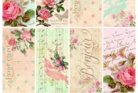 Free Printable Shipping Label Template New Parisian Romantic Scrapbook Printables Free Scrapbook