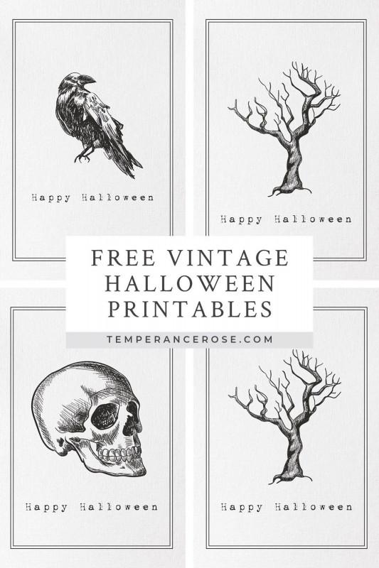 Free Printable Vintage Label Templates Awesome Free Printable Vintage Halloween Wall Art Halloween Prints