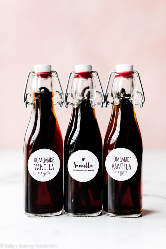 Free Printable Water Bottle Label Template Awesome Homemade Vanilla Extract