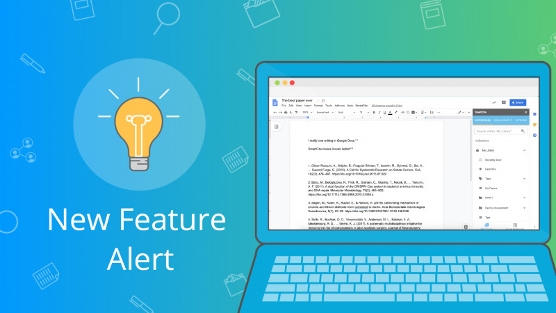 Google Docs Label Template Awesome New Feature Alert Smartcite For Google Docs Papers