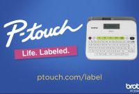Hand Sanitizer Label Template Unique Brother Ptouch Labelmaker Ptd210 Item 605703
