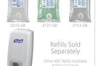 Hand Sanitizer Label Template Unique Purell Goj212006 Nxt Hand Sanitizer Dispenser 1 Each