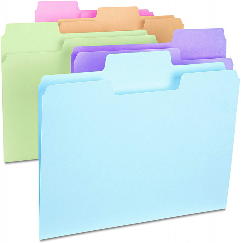 Hanging File Folder Label Template Awesome Smead Supertab File Folder Oversized 1 3 Cut Tab Letter Size assorted Colors100 Per Box 11961
