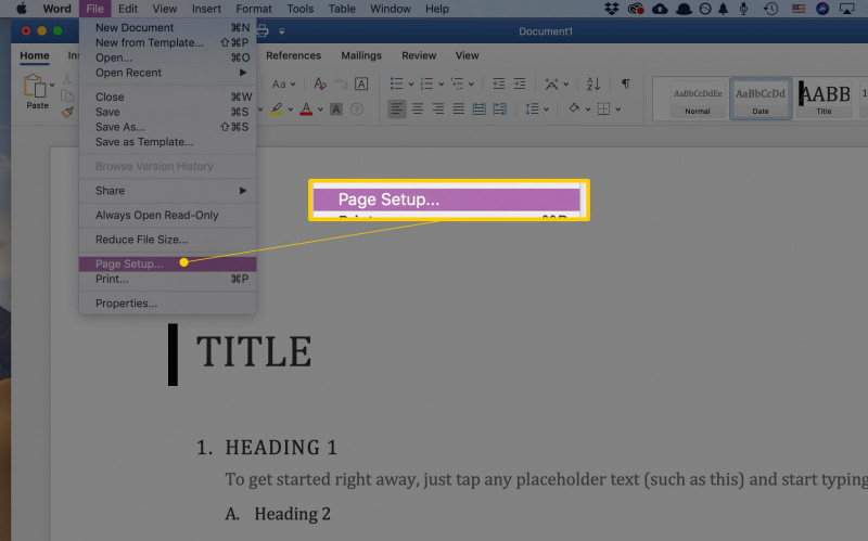 How To Set Up Label Template In Word New How To Change The Paper Size In Word