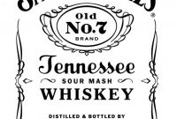 Jack Daniels Label Template Awesome Jack Daniels Logos