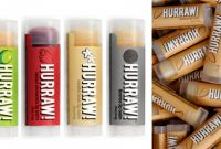 Lip Balm Label Template Awesome Hurraw Lip Balm Dieline