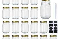 Mason Jar Label Templates New Amazon Com Encheng 12 Oz Glass Jars with Lids Ball Wide