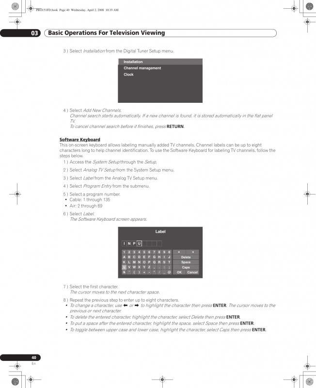 Memorex Cd Label Template Mac Unique Pioneer Kuro Pro 111fd Users Manual Pro151fd